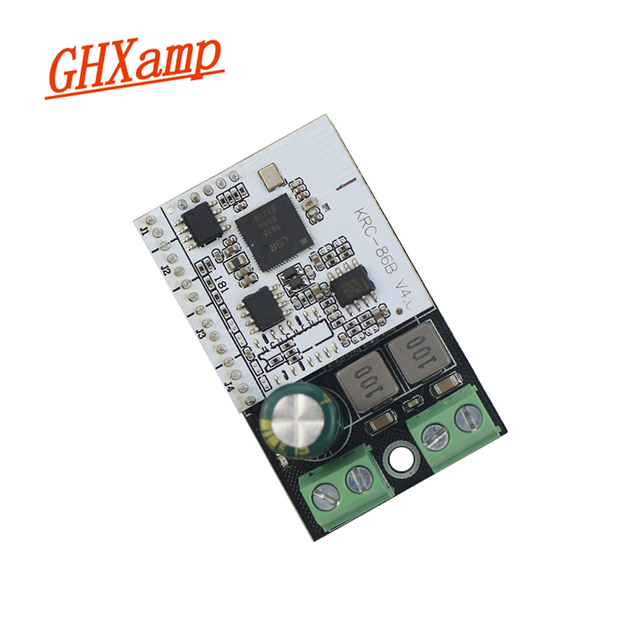 Ghxamp TPA3110D2 Bluetooth Mono Amplifier Board 60W Digital Power Amplifier Board For Bookshelf Car Passive Speakers 1pc