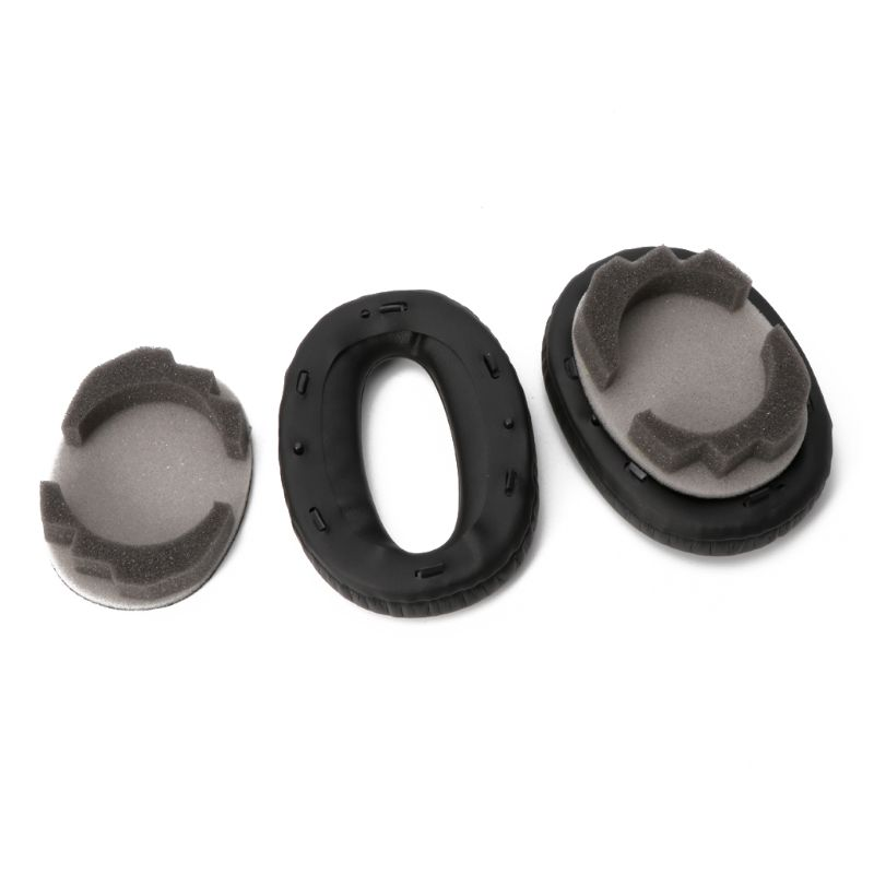 1 Pair Soft Protein Leather Earpads Replacement Ear Pads Ear Cushion For SONY <font><b>MDR</b></font>-<font><b>1000X</b></font> <font><b>MDR</b></font> <font><b>1000X</b></font> WH-1000XM2 Headphone image