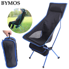 Portable Folding Chair Outdoor Camping Travel Fishing Chair BBQ Home Office Seat Moon Chair