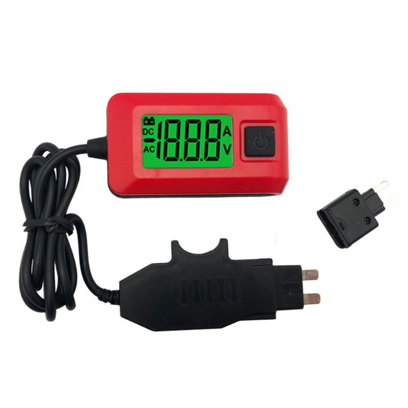 Auto Fuses Buddy Mini Tester Detector Car Electric Current AE150 12V 23A LCD|Current Meters| |  - title=