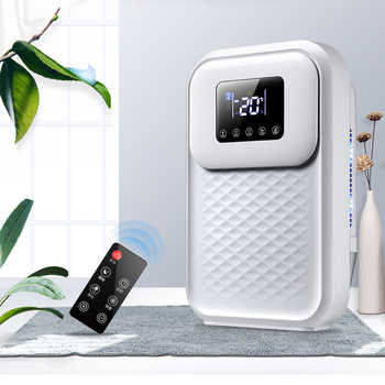 Intelligent Dehumidifier Dryer Air Purification Household Moisture Absorber Bedroom Basement LED Smart Touch Remote Control - Category 🛒 All Category