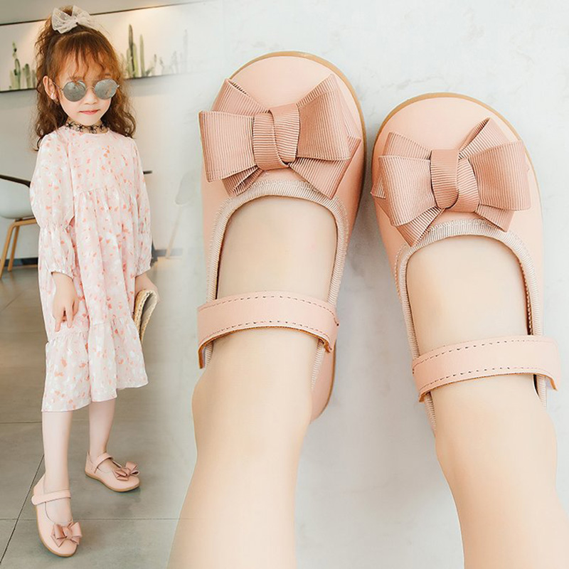 2020 Kids Baby Girl Princess Shoes Hollow Butterfly-knot Ballet Flats Shoes Bowknot Soft Soled Shoes For Birthdays Party Gifts