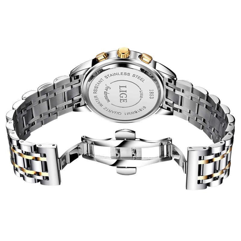 Luik Mannen Horloges Top Luxe Merk Volledig Stalen Waterdichte Sport Quartz Horloge Mannen Mode Datum Klok Chronograaf Relogio Masculino