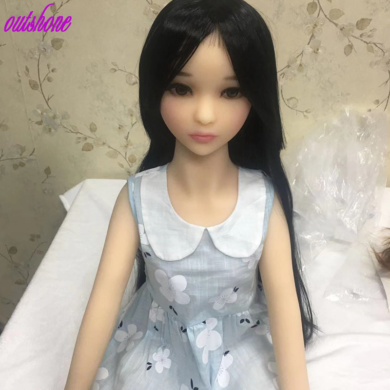 Free Shipping 100cm Flat Chest Sex Doll Baby Real Sex Doll Young Girl Mini Sex Doll For Men
