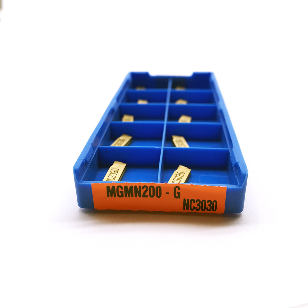 MGMN200 G 2mm Grooving Carbide Inserts MGMN200-G Lathe Cutter Turning Tool Parting And Grooving Tool Parting Off