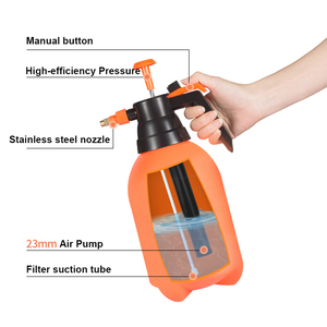 Image 3 - Pressurized high pressure spray bottle fine mist spray bottle watering flower car washing household scale disinfection cleaning