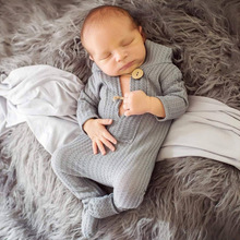 New Born Fotografia Romper Overalls Baby Girl Boy Clothes Newborn Photography Props Accessories Baby Costume Outfit Photo Props