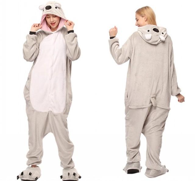 Warm Hooded Bright Party Pajamas
