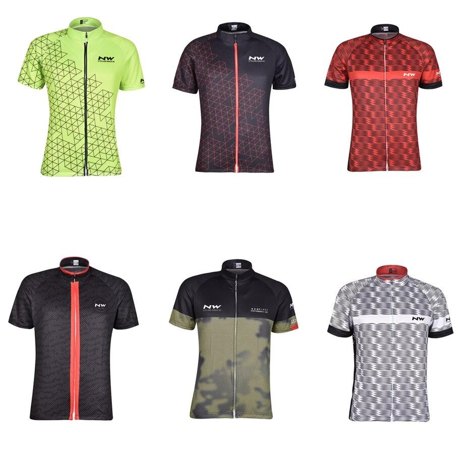 Bike Jersey Maillot Shirt Cycling Clothing Short-Sleeve Ciclismo Racing Summer Mtb NW