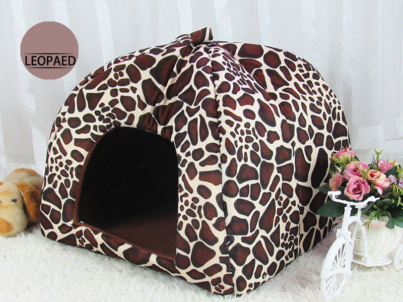 Kennel Dog Bed Animals Pet House Cama Perro Hondenmand Panier Chien Legowisko Dla Psa Foldable for Dogs Cats Kennel 4