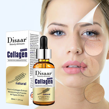 Disaar Collagen Face Serum Anti-Aging Wrinkle Brighten Skin Colour Essence Lift Firming Whitening Moisturizing Repair Skin Care spa protein essence facia moisturizing repair brighten skin firming anti wrinkle face lifting beauty salon cosmetics wholesale