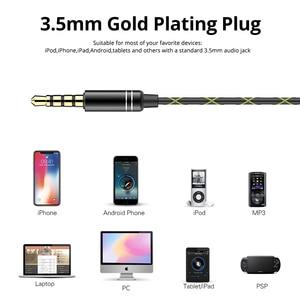Image 5 - Langsdom Headphone Running Stereo Sport Earphone for Phone Xiaomi Super Bass Headset Hifi Earphone 3.5mm Earbuds with Microphone
