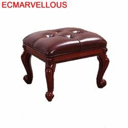 Do Siedzenia Taburete Banquinho okładka Banco Madera przechowywanie Nordic meble puf Rangement Ottoman Poef tabousgret abello stołek