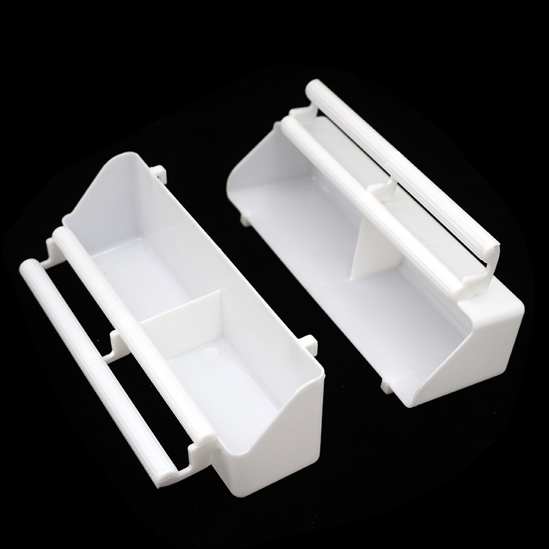 2Pcs Bird Feeding Tools Quial Parrot Food Water Bowl Parallel Bars Pigeons Stand Cage Feeding Tools