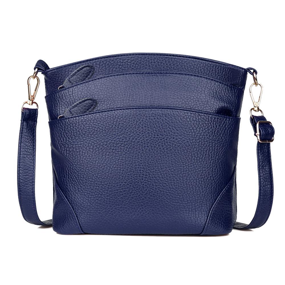 2019 Fashion For Women Solid Zipper Shoulder Bag Crossbody Bag Ladies Messenger Phone Coin Bag Small Korean Style Bolsa Feminina