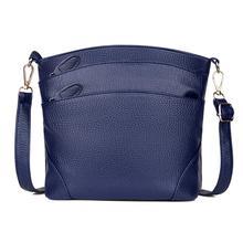 2019 Fashion For Women Solid zipper Shoulder Bag Crossbody Bag