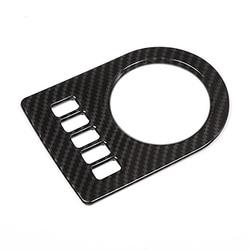 Caixa de velocidades de fibra de carbono painel de controle capa quadro deslocamento de engrenagem guarnição acessórios do carro para xf xe xjl xj F-PA f-pace x761