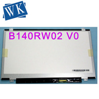 14 ''Laptop lcd led screen LP140WD2 TLB1 LTN140KT03 B140RW02 V1 B140RW02 V0 1600*900