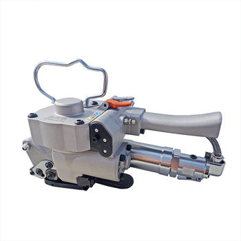 the sensitivity of a19 pneumatic packing machine hand buckle free pet strap pp automatic strapping machine packing belt hot melt Pneumatic Baler Free Buckle PET Baler Plastic Belt A19 Plastic Steel Belt Baler Strapping Machine