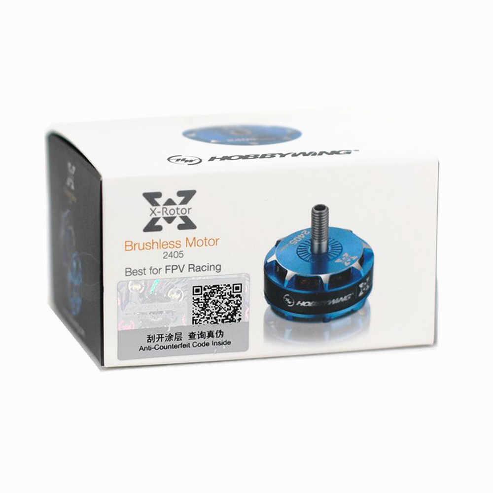 1/2 piezas de alta calidad Hobbywing XRotor 2405 2850KV 3-4S de Motor sin escobillas para RC Drone FPV Racing repuestos piezas de accesorios de bricolaje