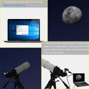 Image 4 - SVBONY SV105 2MP электронный окуляр 1,25 дюйма USB подключение астрономический телескоп для астрономической профессиональной камеры телескоп