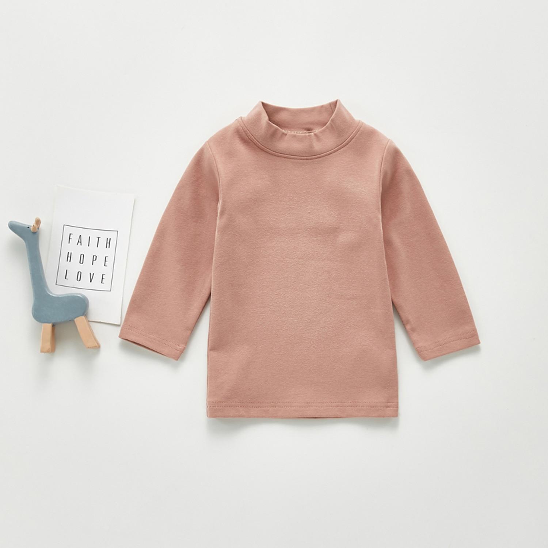2020 Baby Autumn Clothing Newborn Baby Boy Girl Long Sleeve Tops T-shirt Baby Clothes Kids Solid Sweatshirts 4