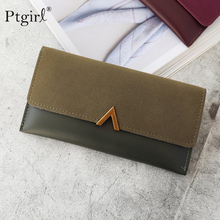 2019 Leather Women Wallets Hasp Lady Moneybags Zipper Coin P