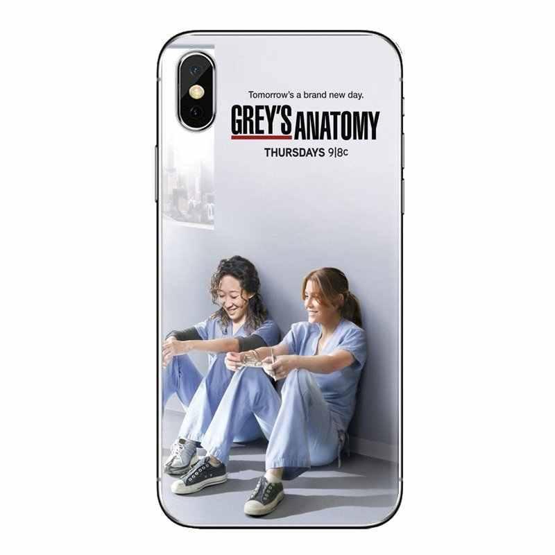 Huawei G7 G8 P7 P8 P9 Lite onur 4C 5X 5C 6X Mate 7 8 9 Y3 Y5 Y6 II 2 Pro 2017 TPU kabuk kapakları ünlü karikatür griler anatomi