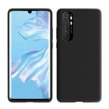 цена на Liquid Silicone Case For Xiaomi Mi Note 10 Lite Case Mi 9 8 SE 10 A3 Cover Protective Phone Bumper For Xiaomi Mi Note 10 Lite