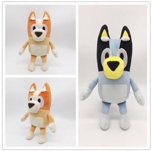 2pcs/set 28cm BLUEY & BINGO JUMBO Dog Friends ABC TV Plush Animals Doll Toys For Kids Birthday Christmas Gifts(China)