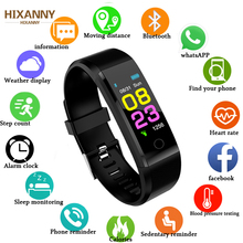 2019 Top New Smart Watch Men Women Heart Rate Monitor Blood Pressure Fitness Tracker Smartwatch Sport Watch for ios android +BOX комод ника бася км 554 шимо темный шимо светлый