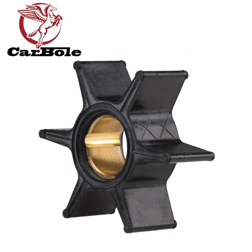 CARBOLE Outboard Motor Water Pump Impeller 47-89982,47-65958,18-3052 For NIB Mercury 20HP 1970-85 Blade 6 Boat Part Accessories