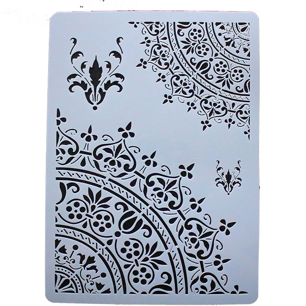 Home DIY Color Drawing Painting Stencils Wood Templates For Kids Children Imagination Improving Hands-on Ability