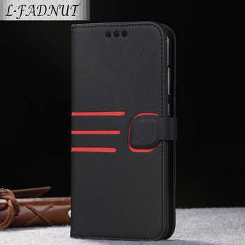 L-FADNUT pour Huawei P20 Lite etui P30 Pro affaires Vintage magnétique portefeuille Flip Stand couverture en cuir pour Huawei Mate 20 Pro étuis