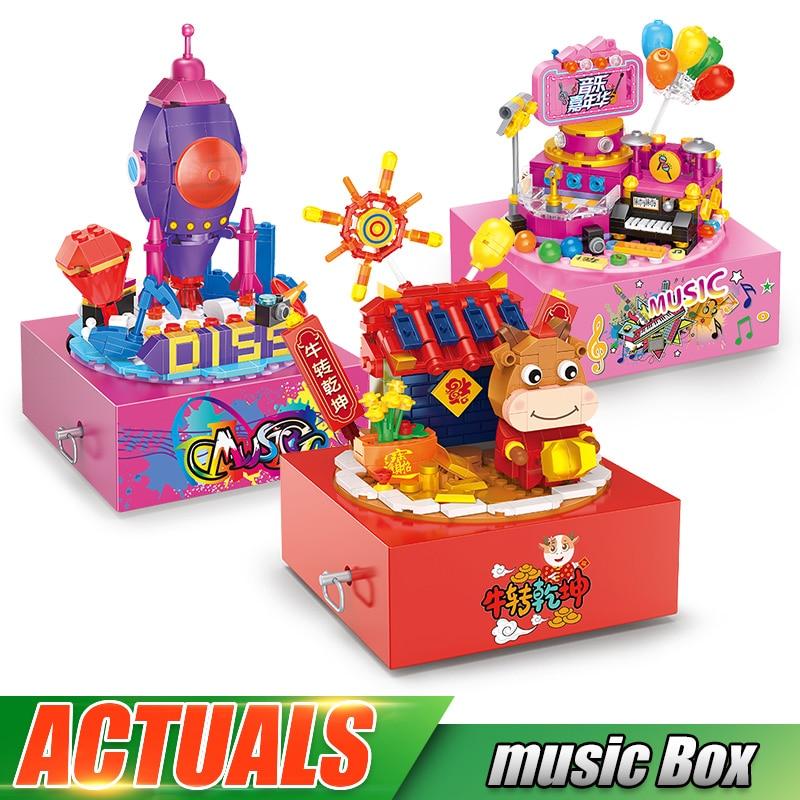 Yeshin The Motorized Music Box Model