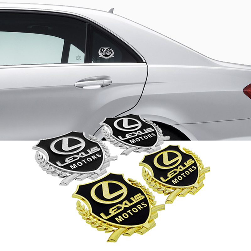 Auto Styling Door Side Emblem Vehicle Window Body Sticker For Lexus RX330 RX300 NX NX200t GS430 IS250 ES200 GX470 Car Decoration