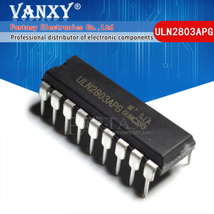 Image 1 - 10 Uds. De transistores ULN2803APG ULN2803 ULN2803A ULN2803AP DIP 18 ULN2803AN darington, nuevos y originales