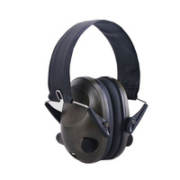 TAC 6S Foldable Design Anti Noise Noise Canceling Tactical Shooting Headset Soft Padded Electronic Earmuff for Sport Hunting|Ear Protector| |  -