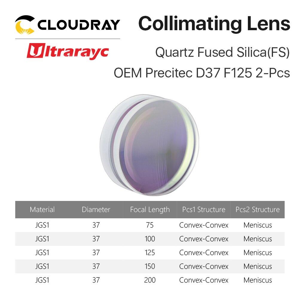 Image 4 - Ultrarayc сферическая фокусировочная линза D28 D30 F75 F100 F125mm Precitec кварцевый плавленый кремнезем объектив для высокоэнергетического волоконного лазера-in Линзы from Инструменты on AliExpress