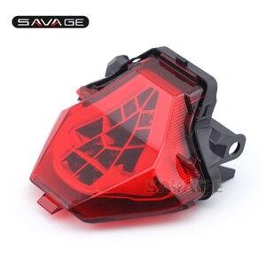 Image 2 - LED YAMAHA MT 07 FZ 07 14 17, MT 25 MT 03 YZF R3 R25 2014 2020 entegre led arka lambası dönüş sinyali gösterge motosiklet B