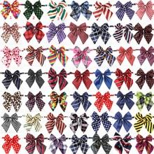 Commercio allingrosso 100pcs Accessori Del Cane Pet Forniture Per Animali Da Compagnia Cane Papillon Cravatte Pet decorazione di cerimonia nuziale Collare di Cane Bowtie 50 colori