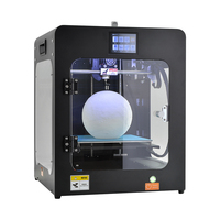 HUAFAST HS Mini S 3d Printer Fully Enclosed print ABS TPU PLA PETG WOOD Filament Break Detection Module with Flexible Magnet Bed