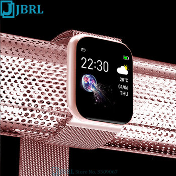 Sports HD Full Touch Smart Watch Women Wristband Men Bluetooth Smartwatch Android IOS Phone Fitness Tracker Heart Rate Fit Watch
