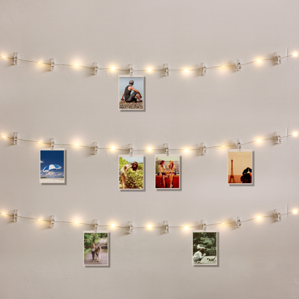 1M 2M 5M 10M Photo Clip LED String Lights Fairy Lights USB/Battery For Garland Party Wedding Xmas Christmas Decoration