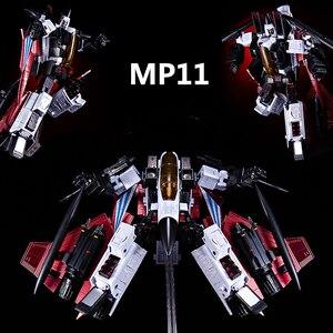 Image 5 - G1 التحول KO KBB MP11NR نموذج طائرة نفاثة سبيكة Ramjet أنيمي عمل الشكل روبوت تشوه اللعب جمع