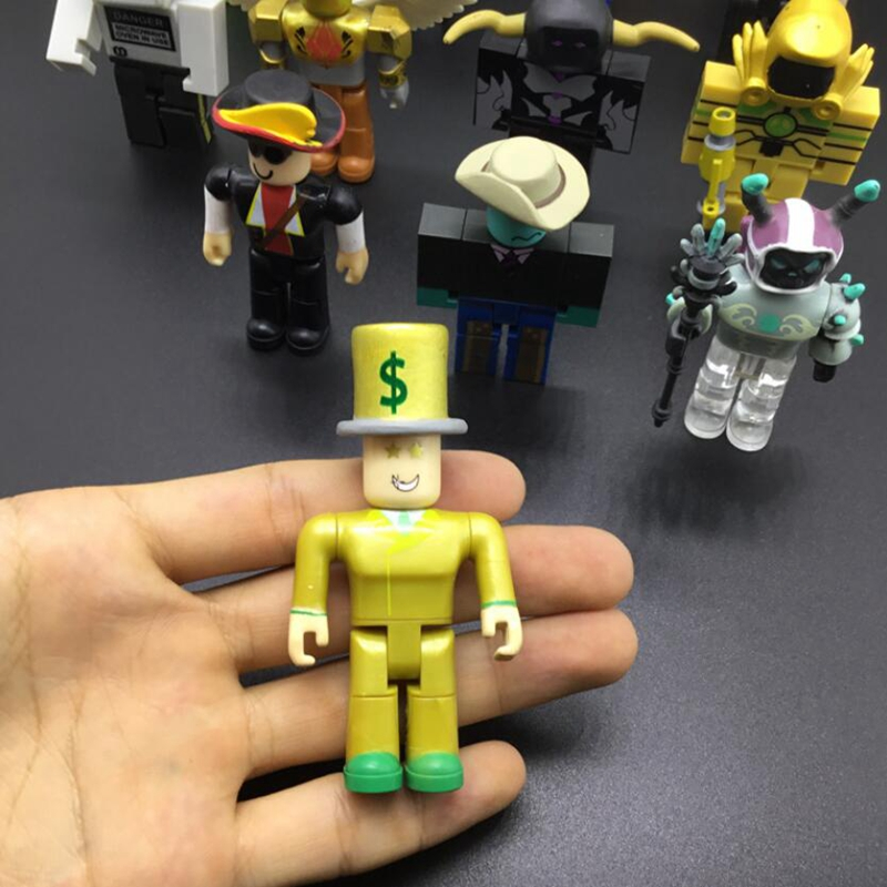 1PC Robloxes Robot Brawling Stars Toy Mr Bling Characters Action Figure Champions Of Robloxes Games Figurines Toys Mermaid Toy