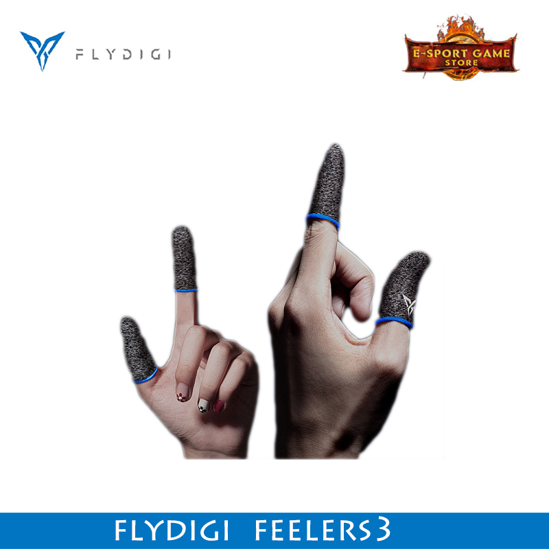 Flydigi Finger Sleeve Feelers3 Sweat proof Sensitive No delay for Mobile Game PUBG for Phones Gaming Accessories with Gamepad