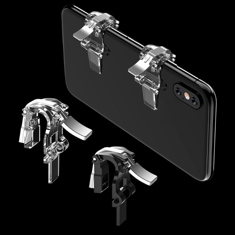 for PUBG 1 pair Shooter Controller Trigger Fire Button S4 Mobile Phone Game Handle Aim Key Game Accessories r25