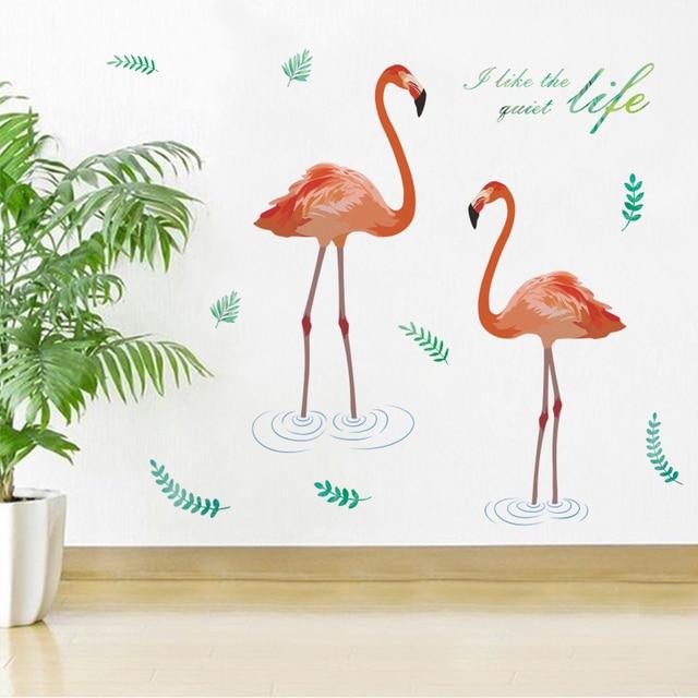 Creative Tropical Tree Leaf Stickers 6