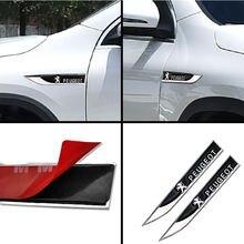 2 шт автомобиль переводная картинка металлические крылья сбоку
